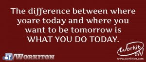 Workiton what you do today