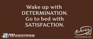 Workiton satisfaction and work