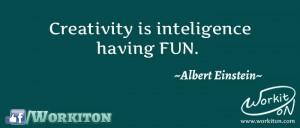 Workiton creativity fun
