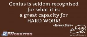 Workiton hard work
